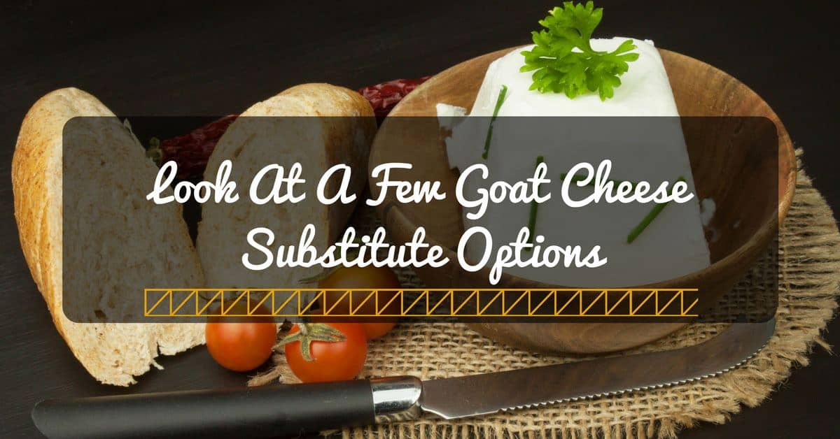 goat cheese substitute