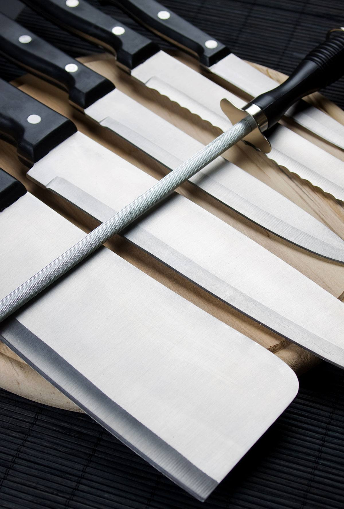 The butcher knife blades