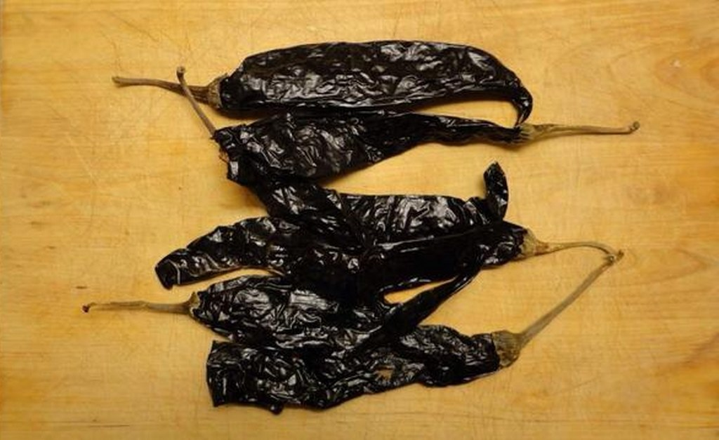 Pasilla peppers