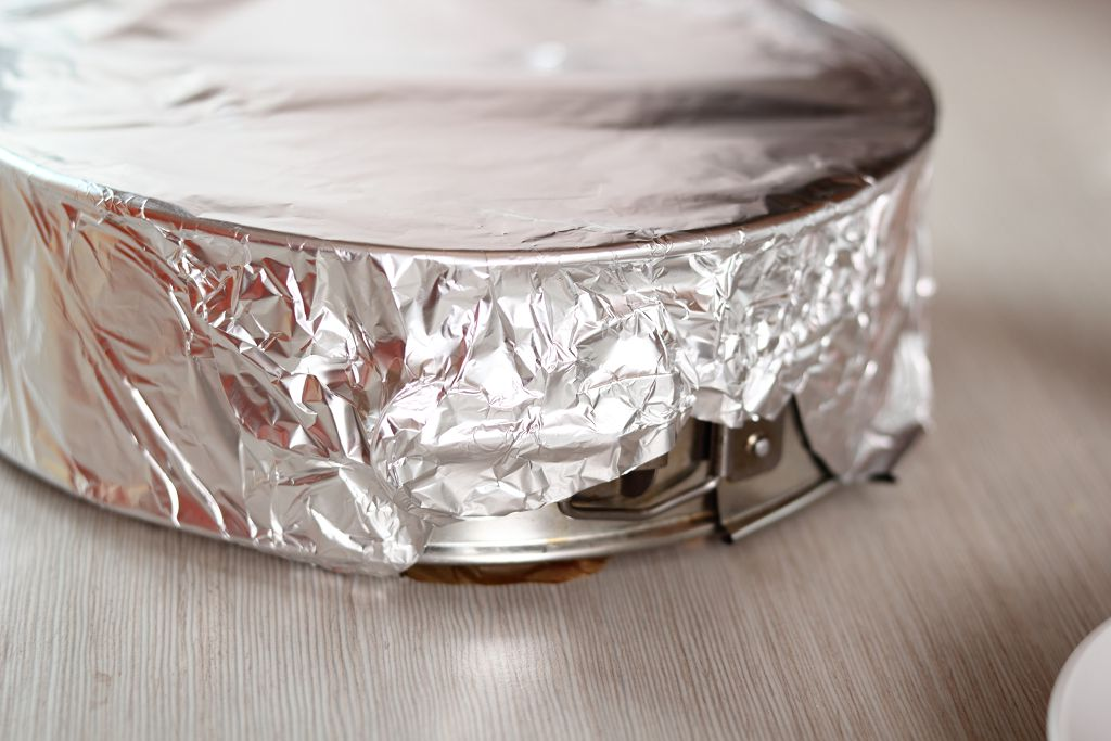 wrap the cornbread with aluminum foil