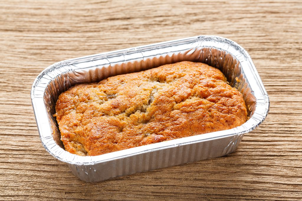 wrap cornbread in a new aluminum foil