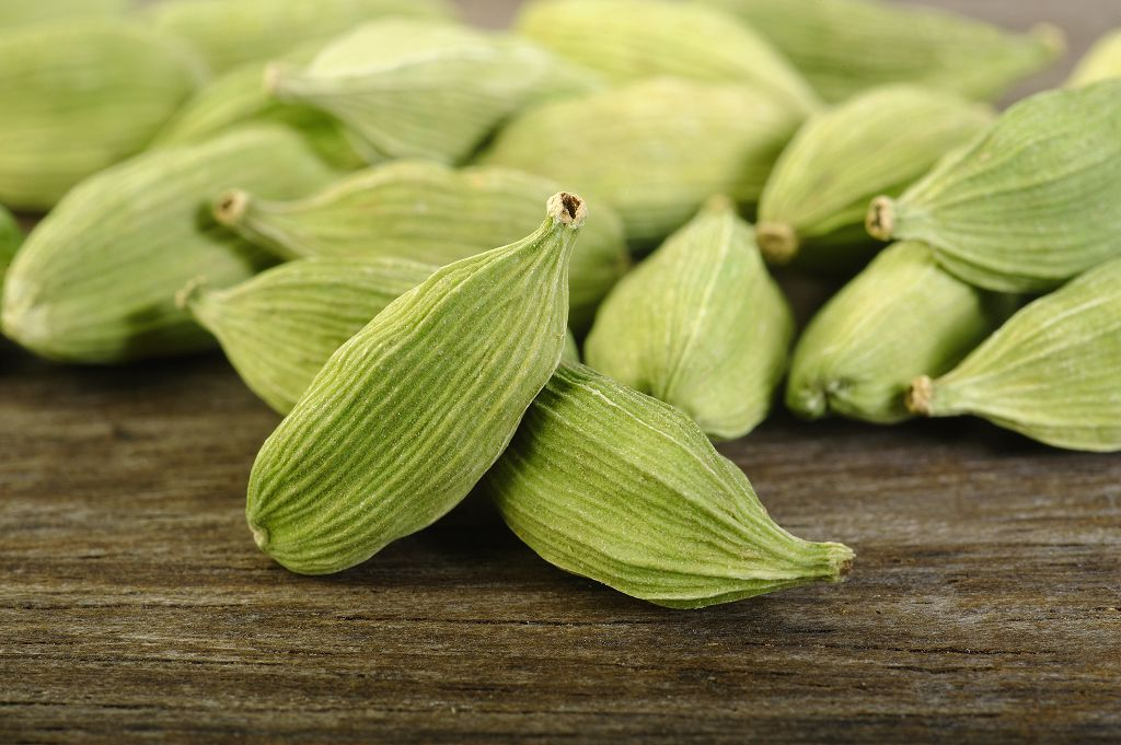cardamom pods on the table