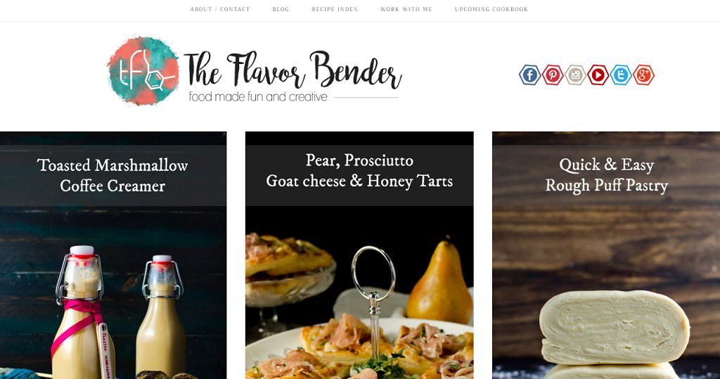 Top 50 food blogs you should be reading aug 2018 dini is so intelligent when she created everything from appetizers to main meals from desserts to cocktails on this blog but they still look clear forumfinder Gallery