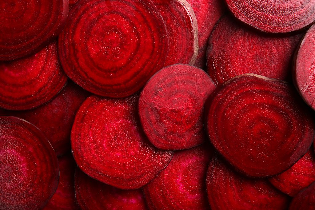 sliced beets