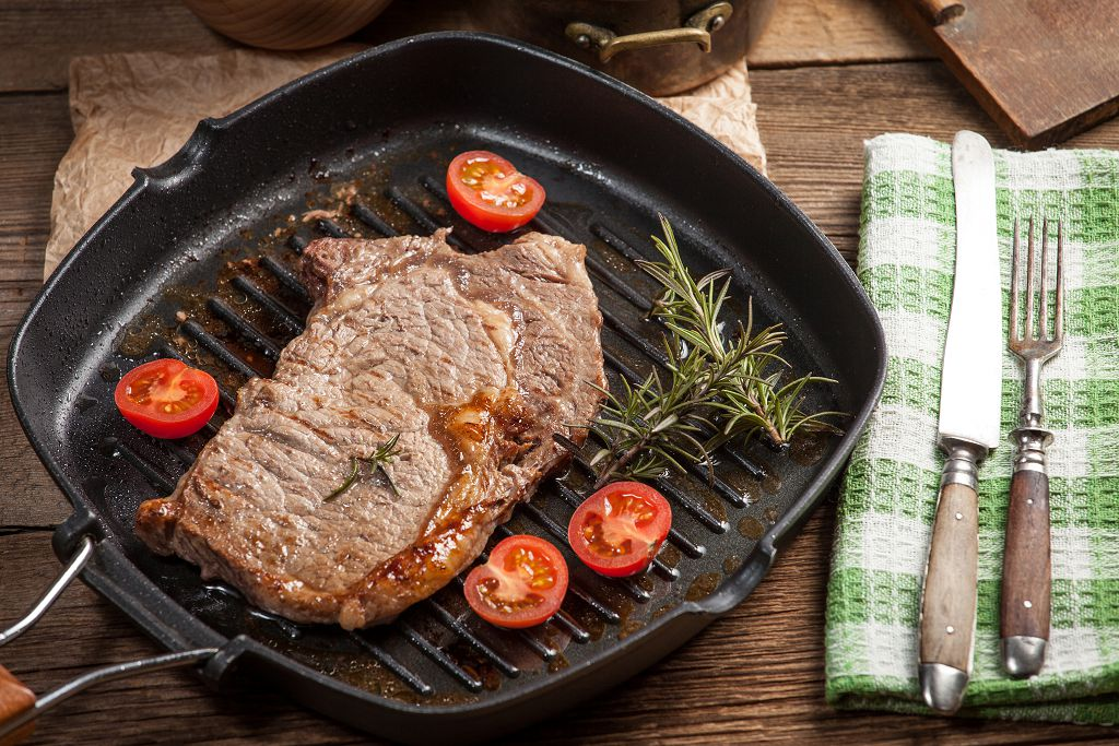 Beef Steak on the pan