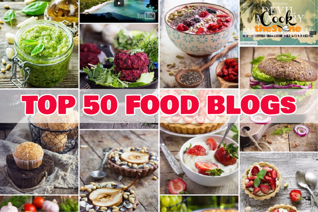 top 50 food blogs