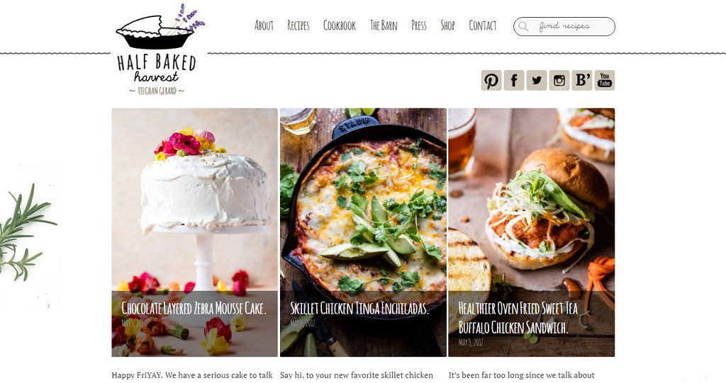 Top 50 Food Blogs You Should Be Reading