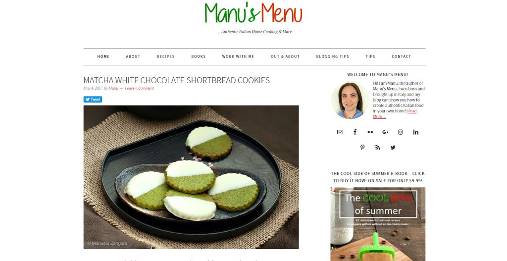 Top 50 food blogs you should be reading may 2018 i have been following manuelas blog for a short time as a suggestion of my best friend she is a big fan of italian cuisine thats why she introduced me forumfinder Images