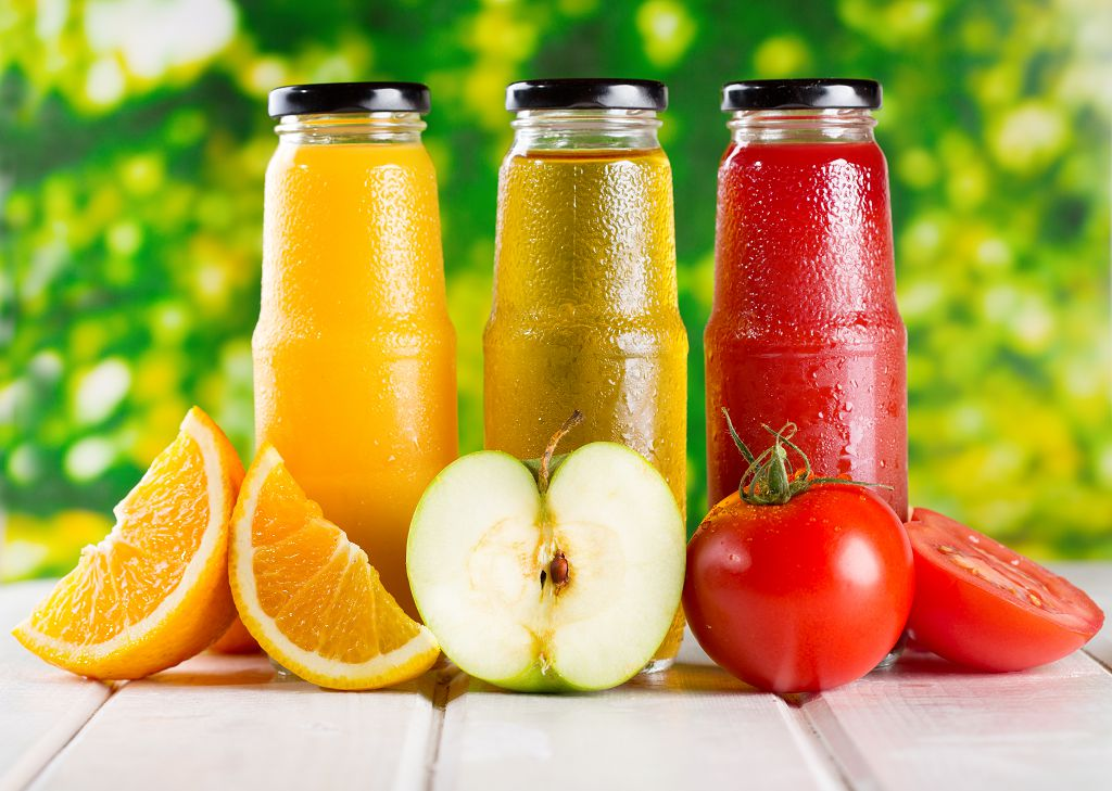 Freezing Apple Juice, Apple, Tomatoes and oranges