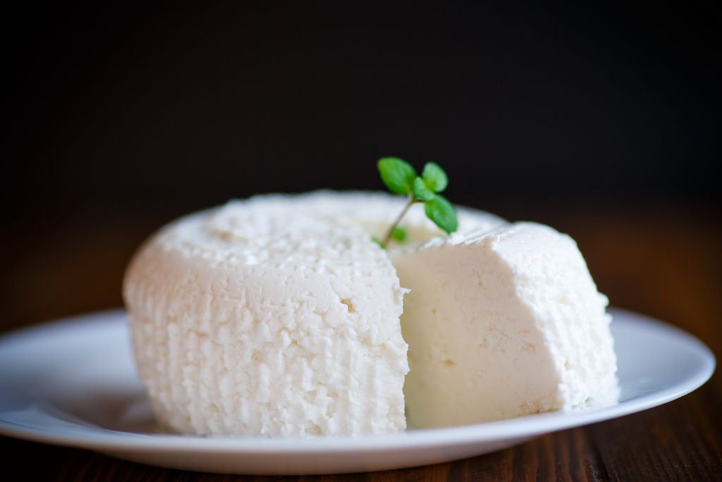 A plate of Cottage Cheese