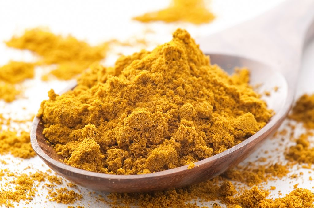 A spoon of Curry Powder