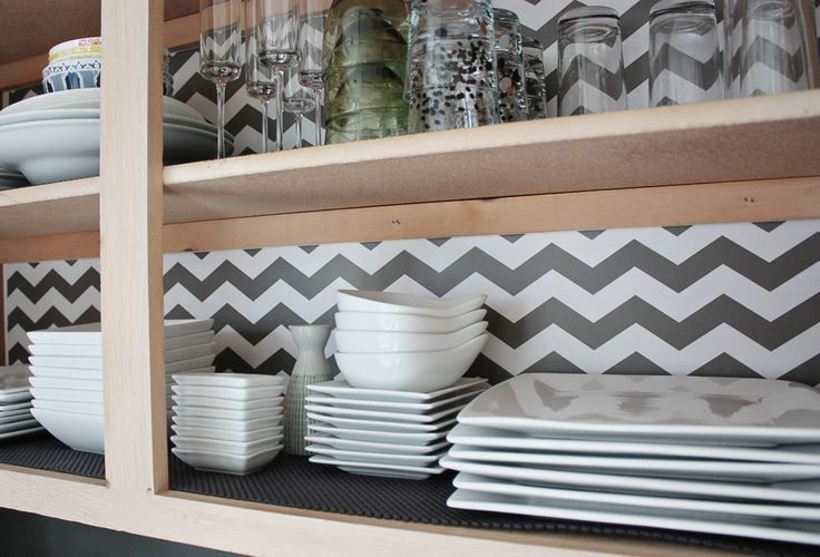 kitchen cabinet shelf liner a kitchen makeover without spending much with the 5751