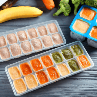 Make Baby Food In Bulk And Freeze Them Easily With The Best Ice Cube Tray For Baby Food
