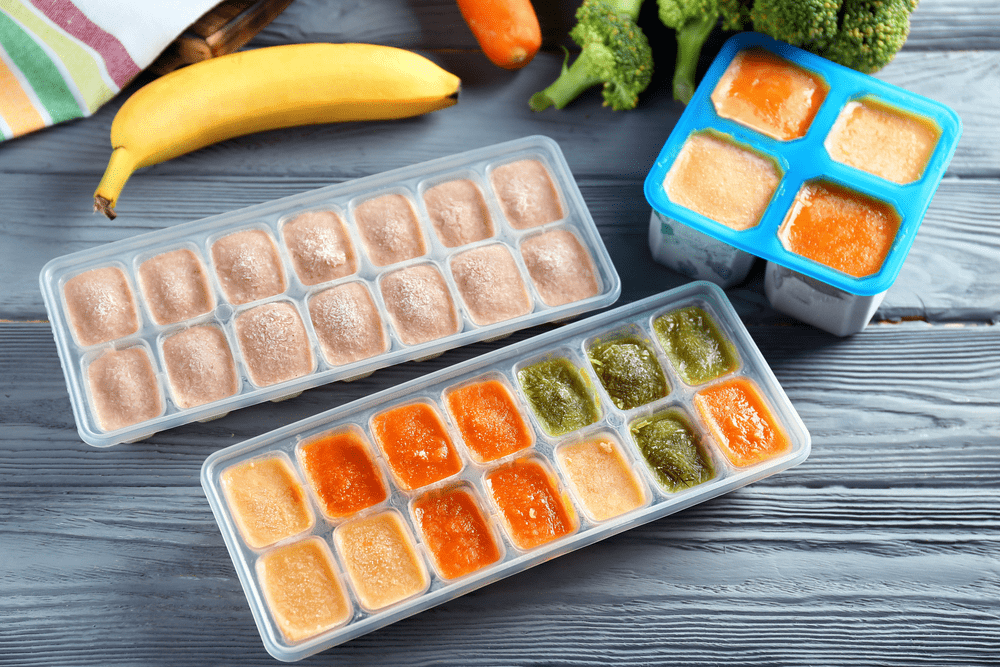 how to make pear baby food to freeze