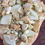 Celery Root, Apple And Gorgonzola Flat Bread Pizza #Sundaysupper