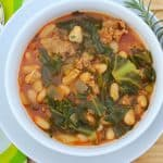 Italian Beans And Greens #Sundaysupper