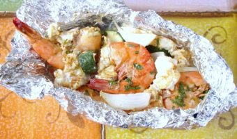 Mexican Seafood Foil Packets #Weekdaysupper