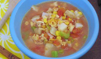 Sopa De Almejas {Clam Soup}
