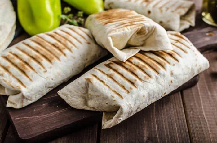 5-ingredients Burritos