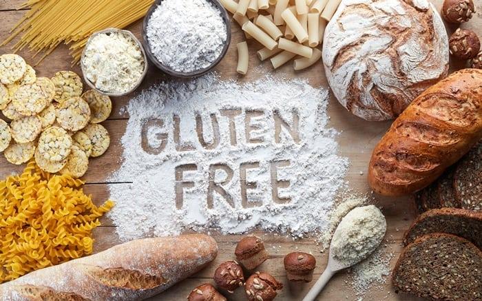 wheat, barley, rye, oat and bread