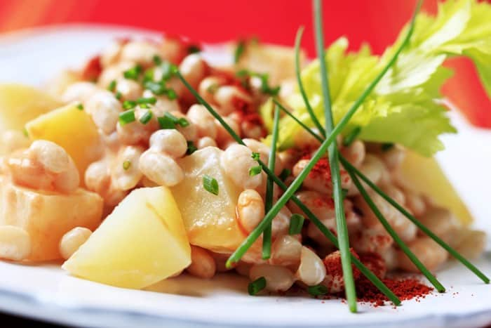 White Bean Potato Salad