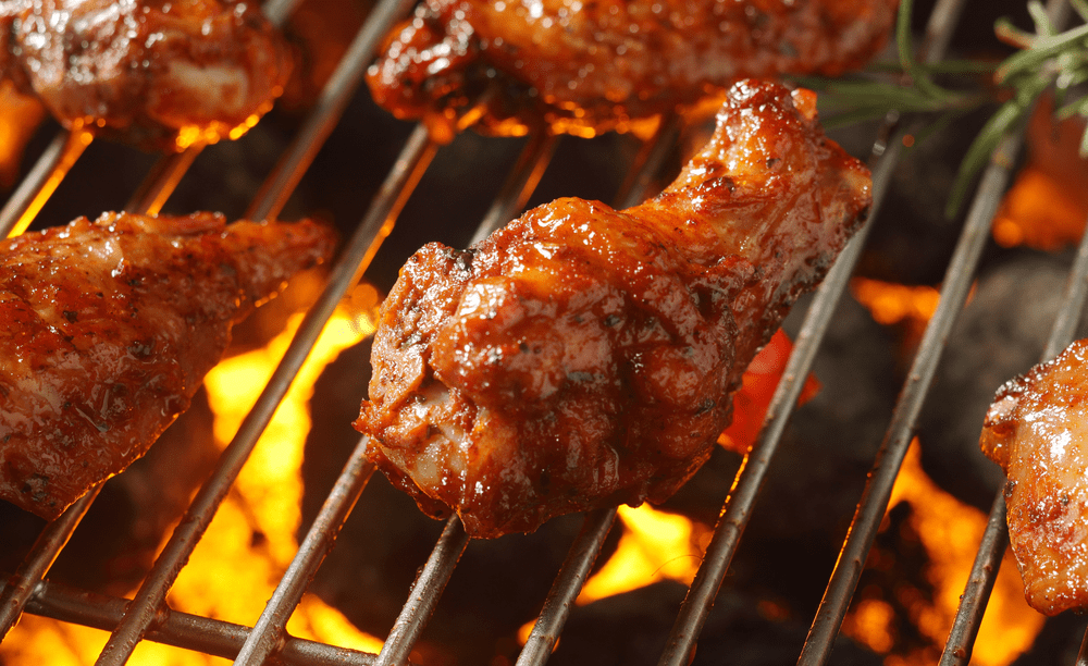 The Best Way to Reheat Chicken Wings - On the Grill