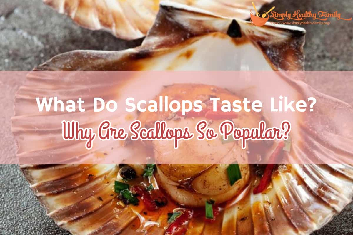 What Do Scallops Taste Like? Why Are Scallops So Popular?
