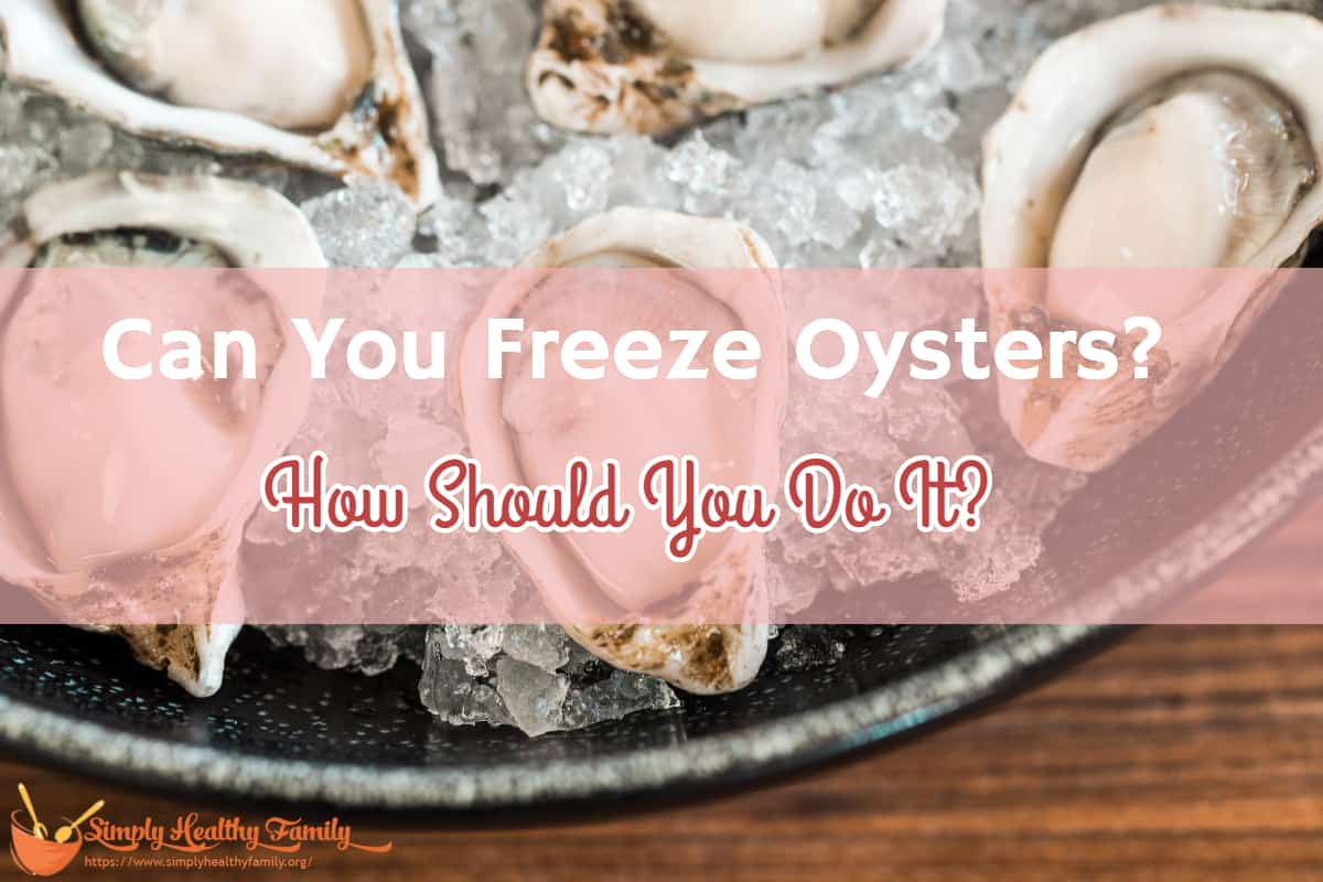Can You Freeze Oysters? How Should You Do It?