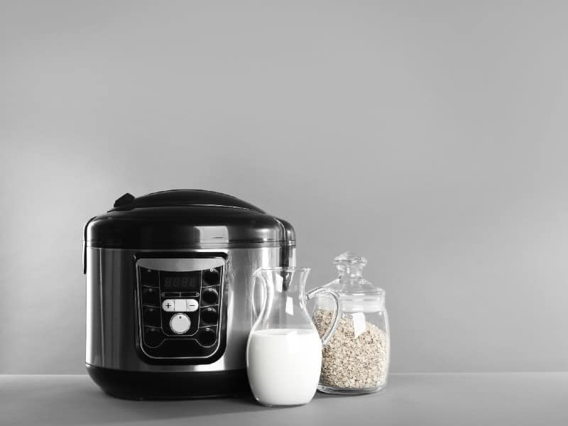 Oatmeal in a Rice Cooker