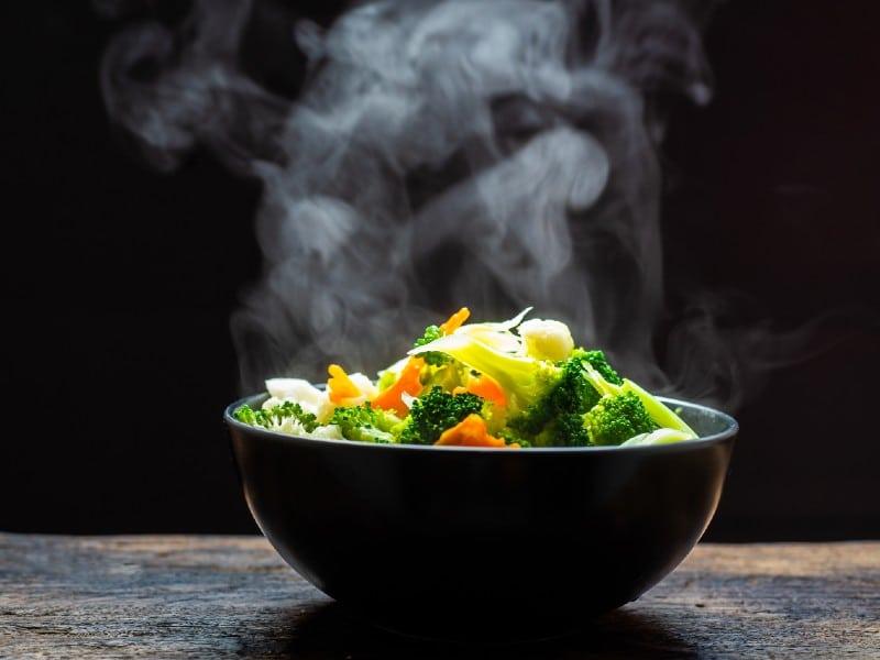 Steam Veggies in Rice Cooker