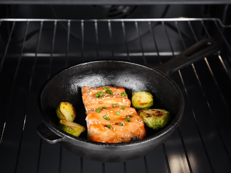 Cook Salmon in a Toaster Oven
