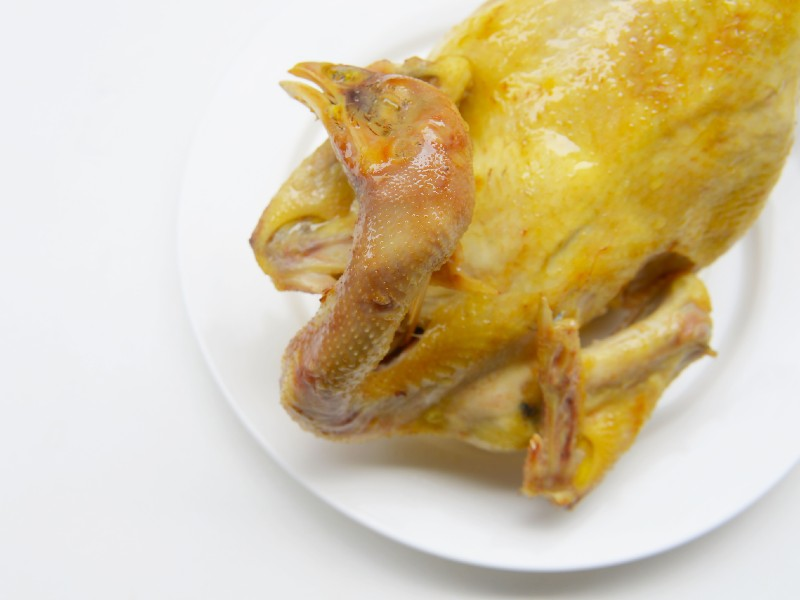 Cook Chicken in Rice Cooker