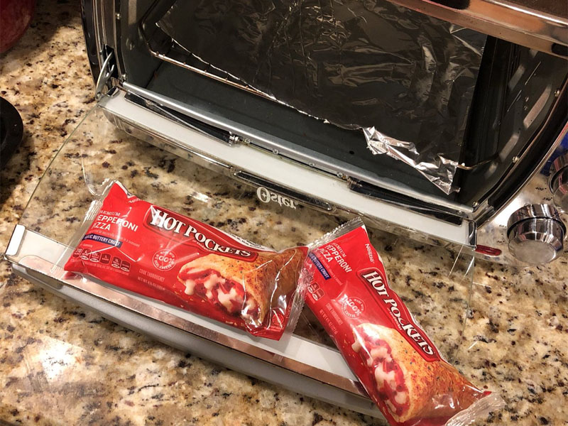 How to Cook a Hot Pocket in a Toaster Oven